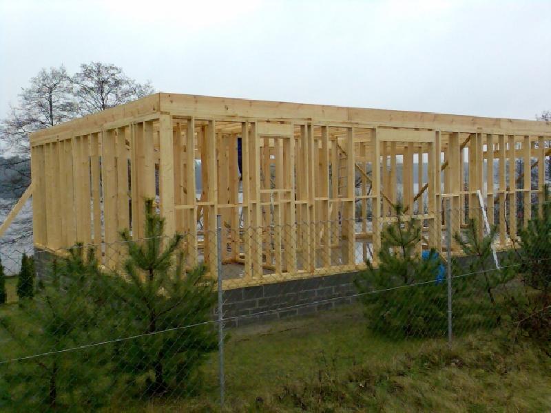 budowa domów z drewna Piła