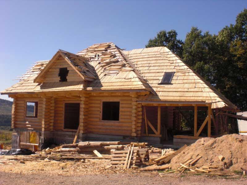 budowa domów z drewna Piła tanio